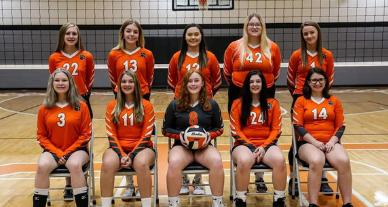 Lynn Camp 2021 Volleyball Team